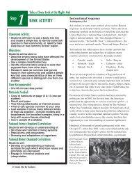 BASIC ACTIVITY Step 1 - Arbor Day Foundation