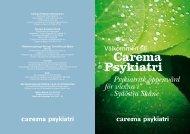 Carema Psykiatri - Capio