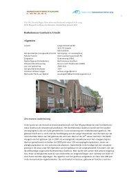 Projectbeschrijving Bartholomeus Gasthuis