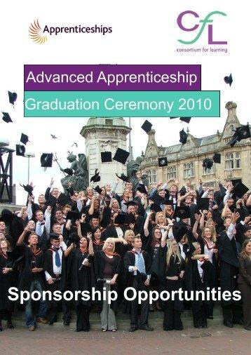 Sponsorship Opportunities - Consortium For Learning