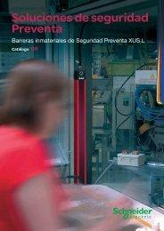 Soluciones de seguridad Preventa - Schneider Electric