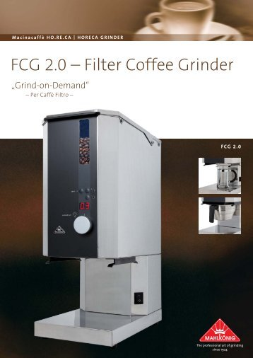 FCG 2.0 – Filter Coffee Grinder