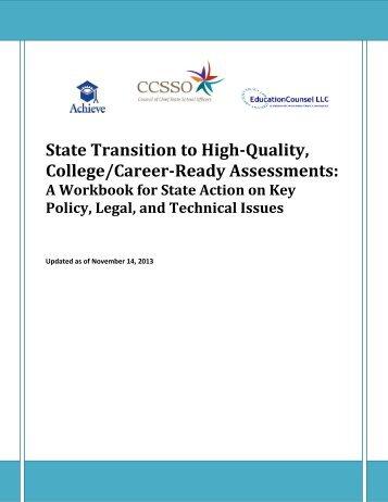 August21-22WorkbookonStateTransitiontoHigh-QualityCCRAssessmentsRevised11-12-13