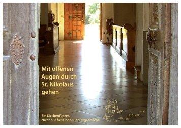 unseren Kinderkirchenführer - St. Nikolaus in Murnau