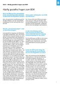 Betriebliches Eingliederungs- management (BEM) - Seite 7