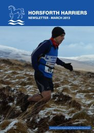 newsletter - Horsforth Harriers