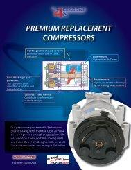 premium replacement compressors www.4s.com - BLUESTREAK