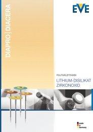Lithium-Disilikat & Zirkonoxid - EVE Ernst Vetter GmbH