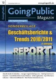 SB Gescha?ftsberichte 2010 neu 2:goingpublic