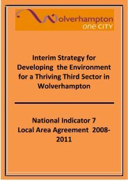 Interim Strategy for Developing the Environment for a Thriving Third ...