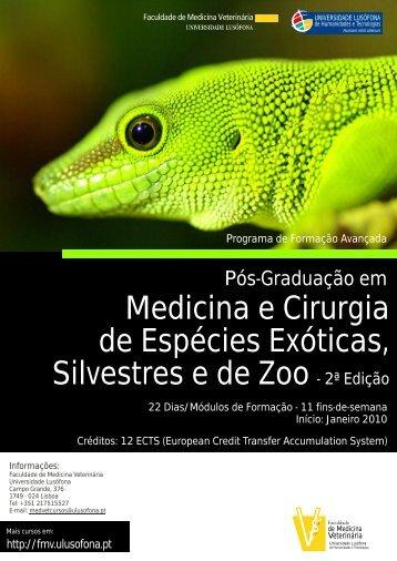 Medicina e Cirurgia de Espécies Exóticas, Silvestres e de Zoo - 2ª ...