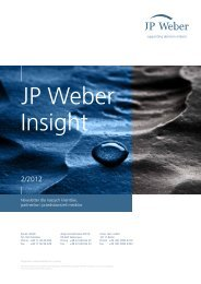 JP Weber Insight 2/2012