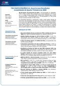 TIM PARTICIPAÇÕES SA Anuncia seus ... - Comunique-se - Page 2