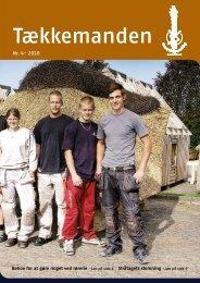Tækkemanden 4/2010 - Dansk Tækkemandslaug