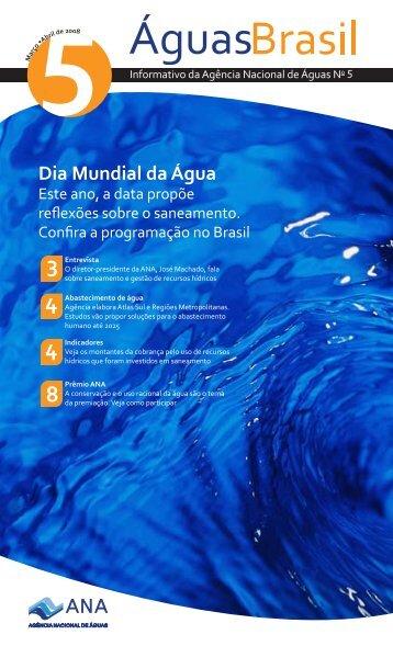 Dia Mundial da Água - Ana