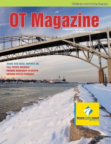 Winter Issue - Ontario Traffic Conference
