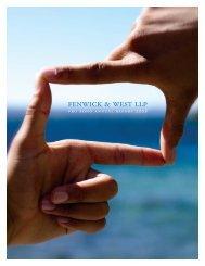 Fenwick & West LLP Pro Bono Annual Report 2008