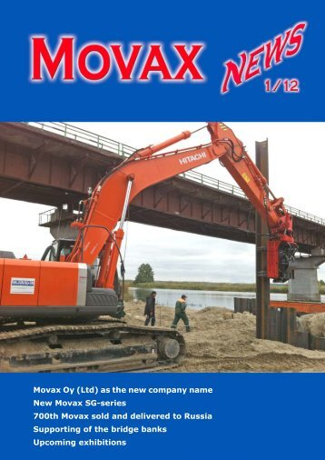 Movax Oy (Ltd) as the new company name New Movax SG-series ...