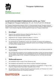 Ausführungsbestimmungen Apfelschuss (Stand Mai 2011) - TASV