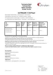 ULTRALEN® K 30 Pearl