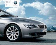 Nya BMW 6-serie Coupé Nya BMW 6-serie Cabriolet 630i 635d 650i ...