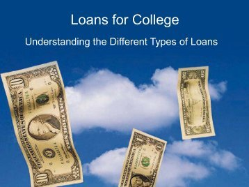 Loans for College Loans for College