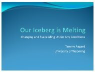 Our Iceberg is Melting: Changing and Succeeding Under ... - AACRAO