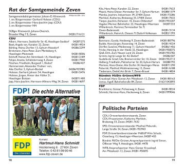 FDP! Die echte Alternative - Samtgemeinde Zeven