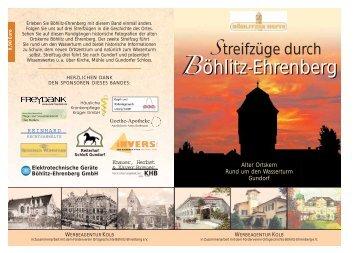böhlitz-ehrenberg der alte ortskern - Böhlitzer Hefte