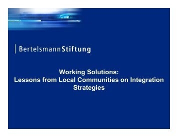 bertelsmann-presentation-june-9-2009 - Cities of Migration