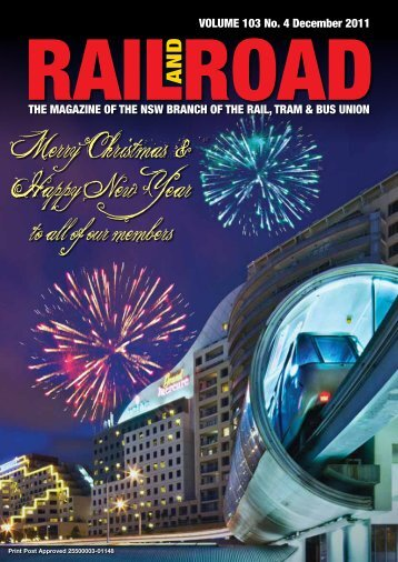 Merry Christmas & Happy New Year - Rail, Tram and Bus Union of ...