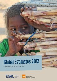 Global Estimates 2012 - Flyktninghjelpen
