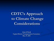 FHWA Workshop 5 CDTC Climate Change CO - New York State ...