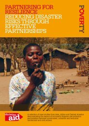 Partnering for resilience reducing disaster risks ... - Christian Aid