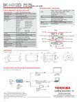 ULTRA COMPACT 1080p/60 FPS CMOS HD CAMERA ... - Toshiba - Page 2