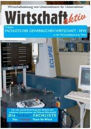 """FACHLISTE DER GEWERBLICHEN WIRTSCHAFT - RFW Die""""echte ..."""