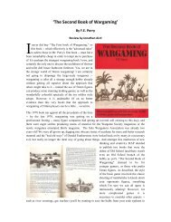 'The Second Book of Wargaming' - Lone Warrior Blog