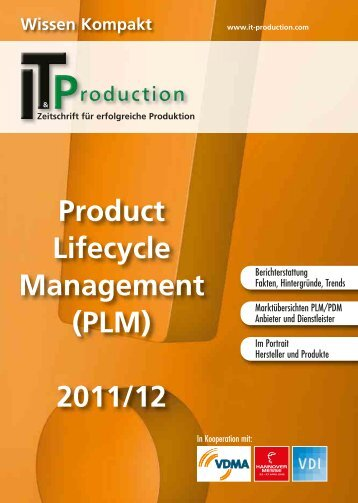 Product Lifecycle Management (PLM) 2011/12 - IT & Produktion