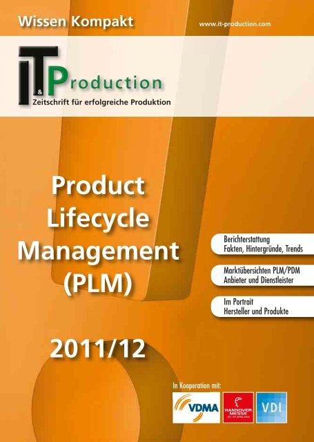 Product Lifecycle Management (PLM) 2011/12 - IT & Produktion