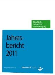 Jahresbericht Suchtvorbeugung - Diakonie Düsseldorf
