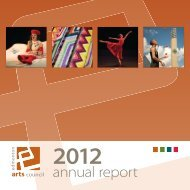 2012 Annual Report - Edmonton Arts Council
