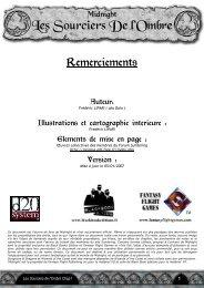Partie 1: Les sourciers de l'Ombre - Cerbere.org