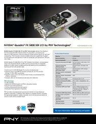 NVIDIA® Quadro® FX 5800 SDI I/O by PNY Technologies®
