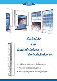Industrietorantriebe und Steuerungen - Tormatic