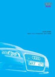 Audi A4/S4 Fakta och cirkapriser april 2006 - H-kan.se