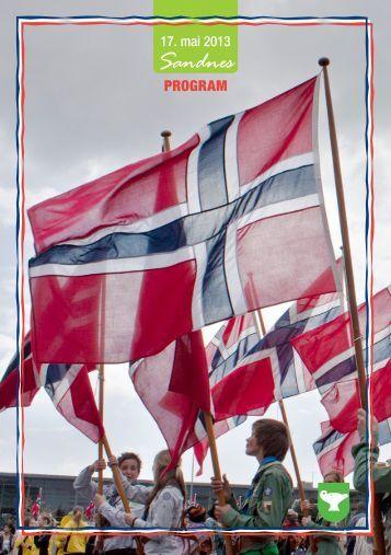 Her er programmet for 2013 - Sandnes Kommune