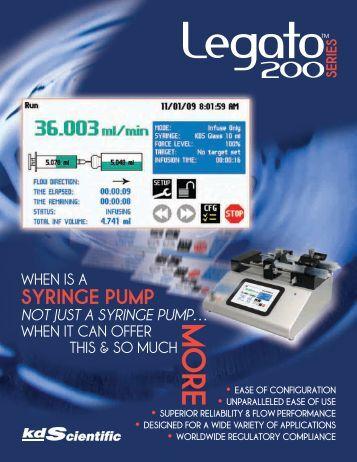 Download - KD Scientific Syringe Pumps