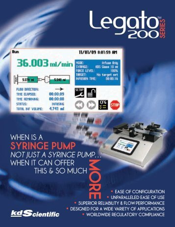Download - KD Scientific Syringe Pumps