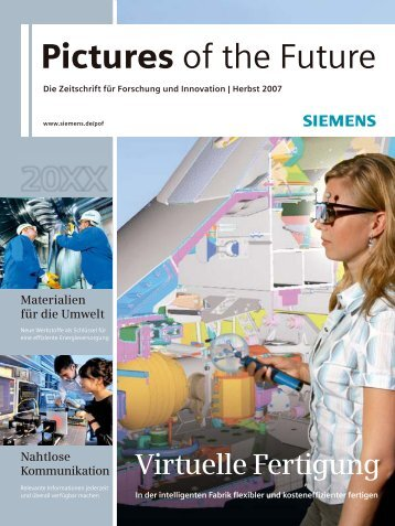 Pictures of the Future - Siemens