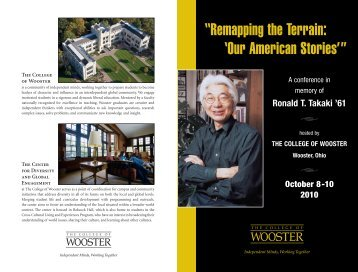here - Center for Diversity & Global Engagement - College of Wooster